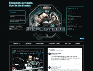 realsteelgame.com screenshot