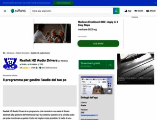 realtek-hd-audio-drivers-xp.softonic.it screenshot