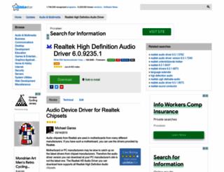 realtek-high-definition-audio-driver.updatestar.com screenshot