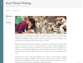 realthesiswritingus.wordpress.com screenshot
