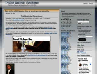 realtimeunited.wordpress.com screenshot