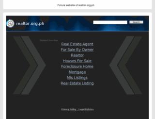 realtor.org.ph screenshot
