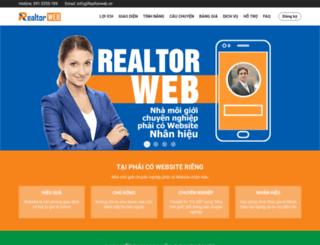 realtorweb.vn screenshot