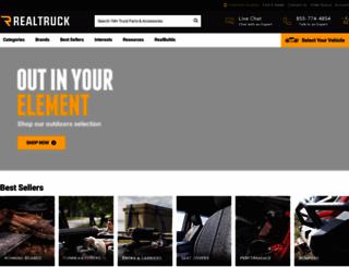 realtruck.com screenshot