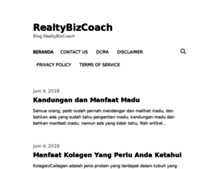 realtybizcoach.com screenshot