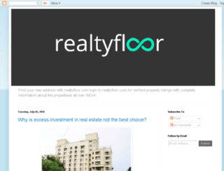 realtyfloor.blogspot.in screenshot