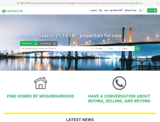 realtylink.org screenshot