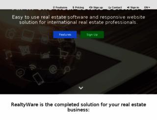 realtyware.com screenshot