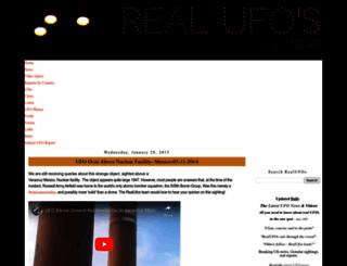 realufos.net screenshot