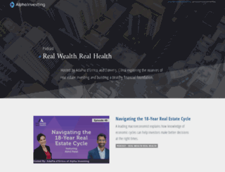 realwealthrealhealth.com screenshot