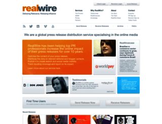 realwire.com screenshot