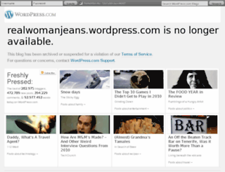 realwomanjeans.wordpress.com screenshot