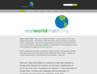 realworldmath.org screenshot
