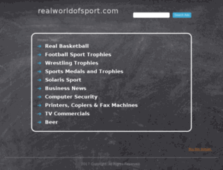 realworldofsport.com screenshot