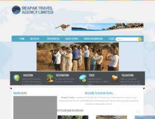 reapaktravel.com screenshot