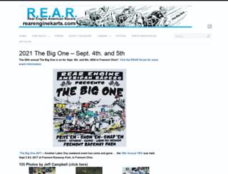 rearenginekarts.com screenshot