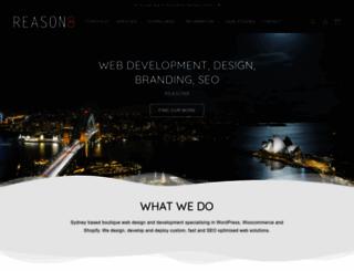 reason8.com.au screenshot