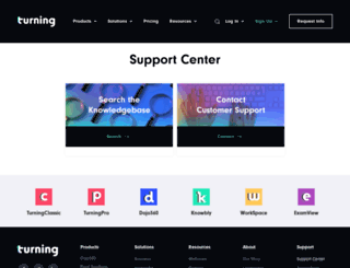 rebates.turningtechnologies.com screenshot