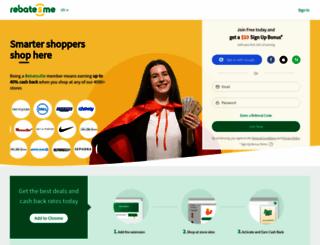 rebatesme.com screenshot