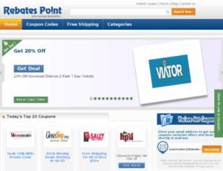 rebatespoint.com screenshot