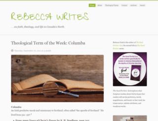 rebecca-writes.com screenshot