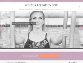 rebeccaadlington.co.uk screenshot