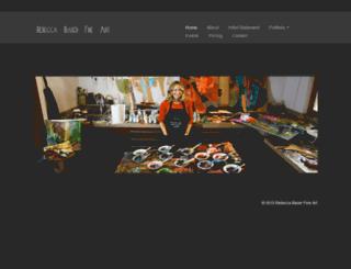 rebeccabauerfineart.com screenshot