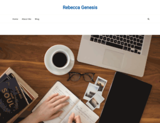 rebeccagenesis.com screenshot