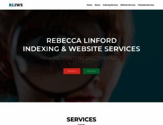 rebeccalinford.co.uk screenshot