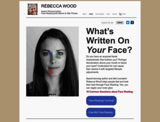 rebeccawood.com screenshot
