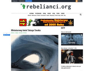 rebelianci.org screenshot