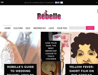rebellemag.com screenshot