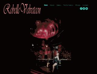 rebellevelveteen.com screenshot