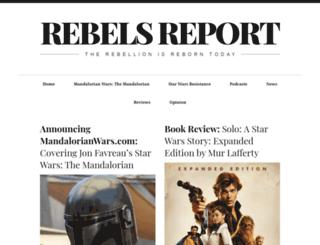 rebelsreport.com screenshot