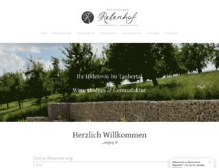 rebenhof.net screenshot