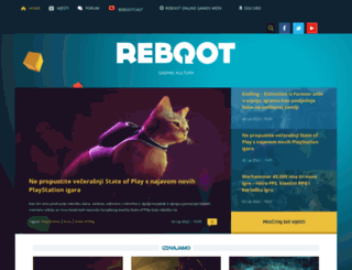 reboot.hr screenshot