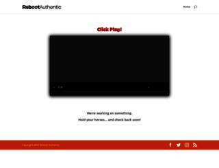 rebootauthentic.com screenshot