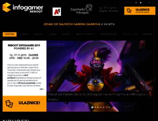 rebootinfogamer.hr screenshot