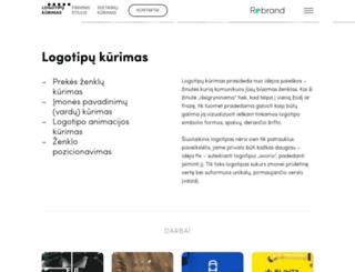 rebrand.lt screenshot