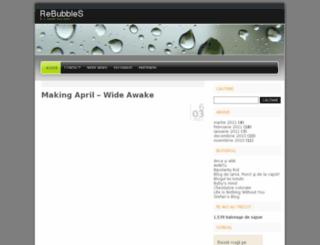 rebubbles.wordpress.com screenshot