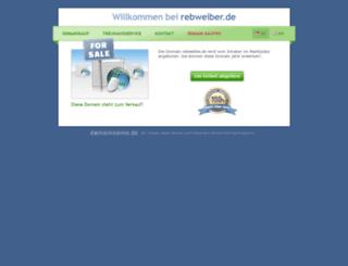 rebweiber.de screenshot