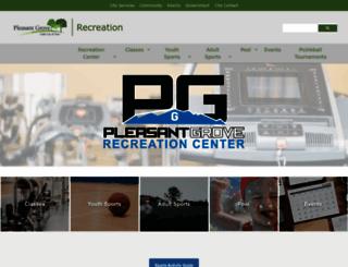 rec.plgrove.org screenshot