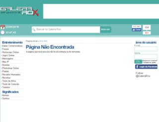 recados.galerarox.net screenshot