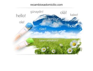 recambiosadomicilio.com screenshot