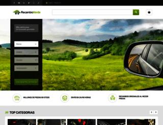 recambioverde.es screenshot