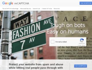 recaptcha.com screenshot