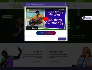 recargas.viva.com.do screenshot