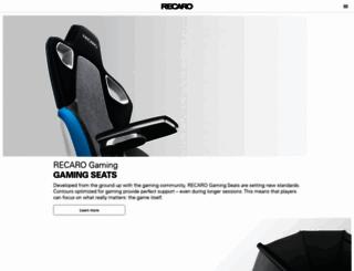 recaro.com screenshot