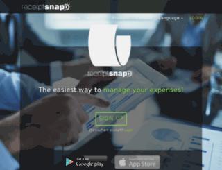 receiptsnapp.com screenshot