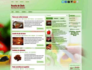 receitadochefe.blogspot.com screenshot